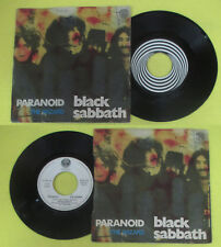 LP 45 7'' BLACK SABBATH Paranoid The wizard 1970 OZZY italy VERTIGO no cd mc dvd