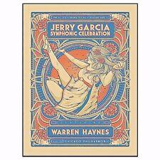 15 JERRY GARCIA SYMPHONIC HIGHLAND PARK CHICAGO RAVINIA POSTER #/255 6/26 FAIREY
