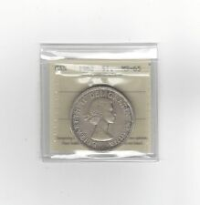**1962**, ICCS Graded Canadian Silver Dollar **MS-65**
