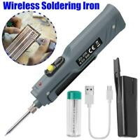 8W Wireless Battery Powered Portable Soldering Iron Tool Electronic Welding Iron