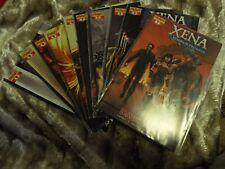 More details for xena warrior princess: dark xena comics #1, #3 & #4 inc photo & sketch variants