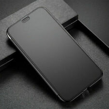 Bases Protect Touchable Flip Case Cover For iPhone X Black US Ship