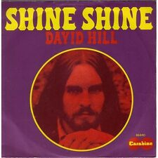 DAVID HILL - Shine, shine French PS Label Carabine Funk Soul 73