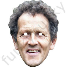Monty Don Celebrity Gardener Card Face Mask - All Our Masks Are Pre-Cut!