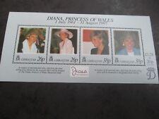 GIBRALTAR 1998  Diana, Princess of Wales Mini sheet SG 828 mnh