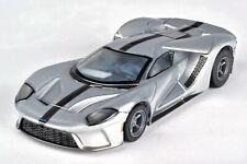 AFX 22012 Silver/Black Ford GT Mega G+ HO Slot Car Autoworld AFX22012 MegaG+