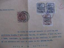 revenue Italy - Bellissime marche da bollo su documento