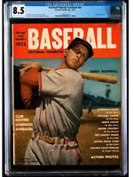 1952 STAN MUSIAL MLB Cover * BASEBALL Yearbook CGC 8.5 VF+ * POP ONE NONE Higher