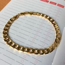 Yellow Gold Filled Chain/Link Costume Bracelets