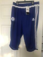 Adidas Chelsea 3/4 Pants Training Capri Pants Soccer S12087 Large NWT