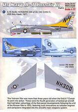 Print Scale Decals 1/72 L.T.V. A-7 CORSAIR II U.S. Navy Fighter Part 2