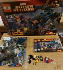 2014 ~ Lego Marvel Super Heroes ~ X-men Vs El Centinela (76022) En Caja & Manuales