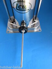 "ULTRA SLIM 3/8"" (9mm) Stainless Steel sausage stuffer tube funnel  for LEM 606"