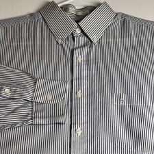 Etienne Aigner Men's Long Sleeve Button Up Dress Shirt 16 ½ 32 33 L Stripes