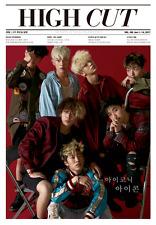 HIGH CUT Vol.199 iKON YG Red Velvet Seulgi,Irene DIA Chaeyeon Korean Magazine