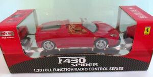 NEW in Box, Ferrari F430 Spider R/C 1:20 Full Function R/C Car by MJX Technic