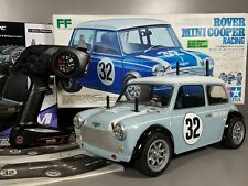 New Built Tamiya 1/10 R/C Rover Mini Cooper Racing FF M-03 Kit #58211 2.4GHZ RTR