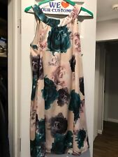 H&M Floral Print Summer Dress Size 8