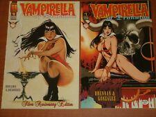 Harris Comics:  VAMPIRELLA OF DRAKULON  Issues #0 B&W, #1 - #5 Colour (1996)