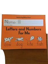 Letters and Numbers for Me Handwriting Without Tears