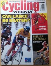 Cycling Weekly. Aug 11th 2001. Tour de France