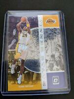 2019-20 Panini Optic Kobe Bryant Lakers Winning Stats Insert Prizm SSP