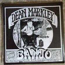 Dean Markley 2304 Banjo Strings-5/Medium Light Loop Ends-Made In USA-BRAND NEW.