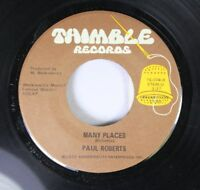 Hear! Psych Funk Nm! 45 Paul Roberts - Many Places / Many Places On Thimble