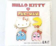 SDCC Comic Con 2017 BAIT Exclusive Hello Kitty x Pacman Pin Set Sanrio