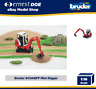 Bruder Schaeff HR16 Mini Excavator Construction Digger Toy Kidsl Scale 1:16 0243