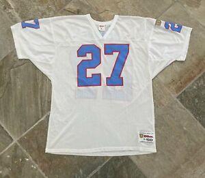Vintage Houston Oilers Eddie George Wilson Football Jersey, size 50, XL