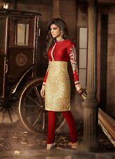 Priyanka BOLLYWOOD CHURIDAR INDIAN DESIGNER SUIT Salwar Kameez Pakistani 5033