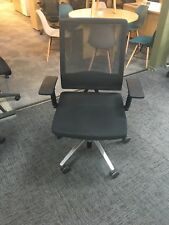 Sedus Mesh back Operator Chair black/aluminium