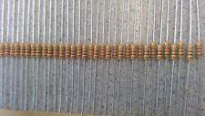 100 x 100R Resistors 5% 1/4W E12 Series Resistor CR25