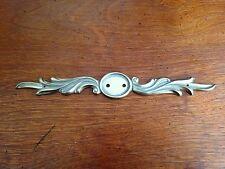Back Plate Ornate Cabinet Dresser Hardware Brass Bob Mackie PN0558