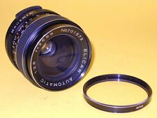 ELICAR AUTOMATIC 35mm 1:2,8 Lens in very good condition w/Filter. M42 Mount.