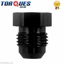 AN -4 (AN4 AN 04) Flare Hex Head Port Plug - Black