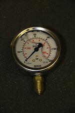 """Manometer, 600bar 1/4"""", Anschluss unten, Durchmesser 63, Falcone"""
