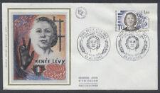 FRANCE FDC - 2293 1 RESISTANCE RENEE LEVY - 5 Novembre 1983 - LUXE sur soie