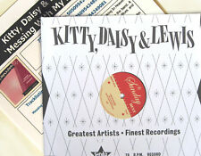 """KITTY DAISY & LEWIS 10"""" Messing With My Life + PROMO INFO Sheet UNPLAYED new"""