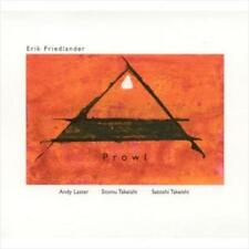 ERIK FRIEDLANDER - PROWL NEW CD