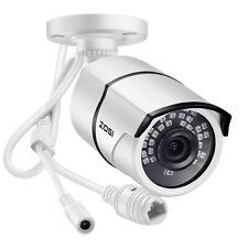 ZOSI CCTV IP Security POE Camera 1080p 2MP HD Outdoor 120ft IR Night Vision