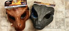Jurassic World T Rex and Velociraptor Blue Dino Rivals Movable Jaw