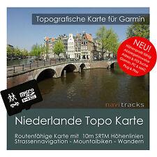 Niederlande Topo GPS Karte 10 Höhenlinien 4GB microSD Garmin Navi, PC & MAC