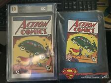 Action Comics #1 CGC 10, New Zealand Pure Silver Foil Collection
