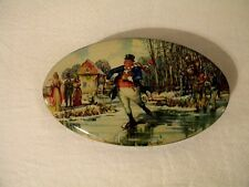 M.A. Craven & Son, Mr. Pickwick On the Ice Dickensian Series Tin Charles Dickens
