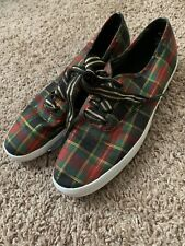 Keds Pro-Keds Checkered Multicolored  Lo Classic Canvas Sneaker - Women's Size 8
