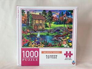 Rainbow Cottage 1000 Piece Jigsaw Puzzle 68.5cm x 50.5 cm