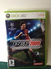 Pro Evolution Soccer 2009 Xbox 360 PES * NEW  PAL VER FOTO