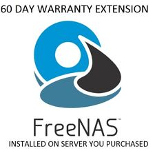 SEWP 60 Day Warranty upgrade and FreeNAS OS 11.1 installed on system Tested